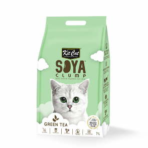Kit Cat Green Tea Soya Clump Cat Litter