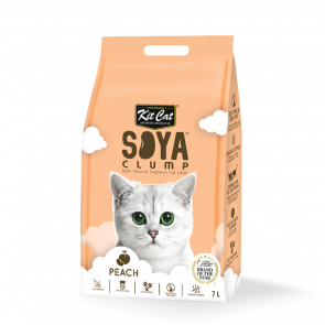 Kit Cat Peach Soya Clump Cat Litter