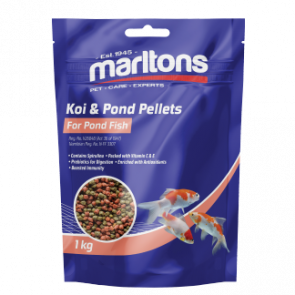 Marlton's Koi &  Pond Fish Pellets - 1kg