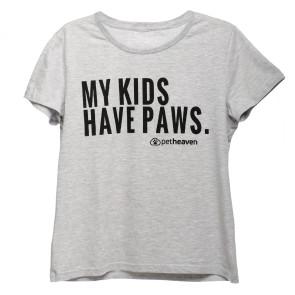 Pet Heaven Ladies Light Grey T-shirt
