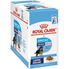 Royal Canin Maxi Puppy Wet Food Pouches - 10x140g