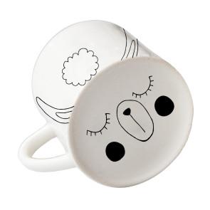 Sugar & Vice Handmade Ceramic Llama Mug