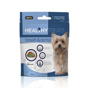 Mark & Chappell Healthy Treats Breath & Dental Dog Treats -70g