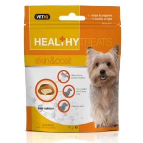 Mark & Chappell Healthy Treats Skin & Coat Dog Treats -70g