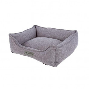 Scruffs Manhattan Medium Pet Box Bed - Dark Grey