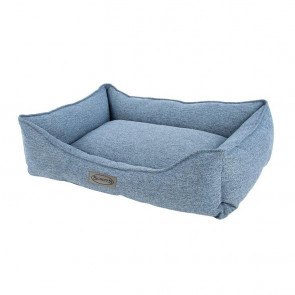 Scruffs Manhattan Large Pet Box Bed - Blue
