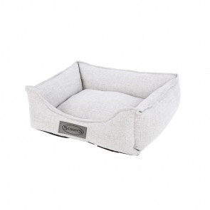 Scruffs Manhattan Small Pet Box Bed - Light Grey