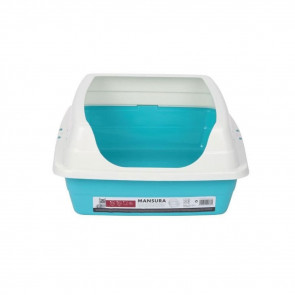 M-Pets Mansura Cat Litter Box - Blue