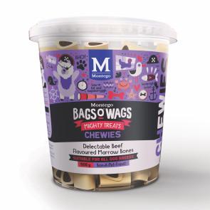 Montego Bags O Wags Marrow Bones Chewies Tubs Dog Treats