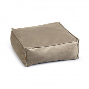 Designed By Lotte Velveti Velvet Cat Bed - Grey