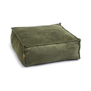 Designed By Lotte Velveti Velvet Cat Bed - Green