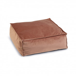 Designed By Lotte Velveti Velvet Cat Bed - Pink