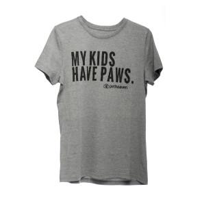 Pet Heaven Men's Grey Melange T-shirt