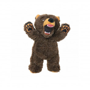 Mighty Toys Mighty Angry Bear Plush Dog Toy