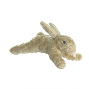 Mighty Toys Mighty Nature Rabbit Plush Dog Toy
