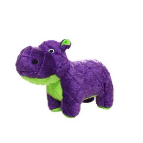 Mighty Toys Mighty Safari Hippo Plush Dog Toy