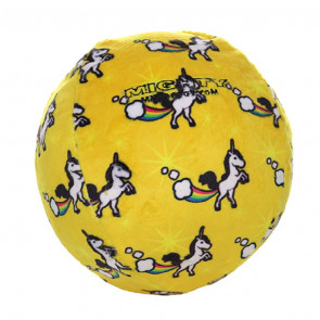 Mighty Toys Mighty Ball No Stuff! Dog Toy - Yellow