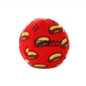 Mighty Toys Mighty Ball No Stuff! Dog Toy - Red