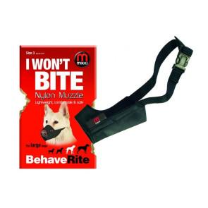 Mikki Soft Nylon Medium Dog Muzzle