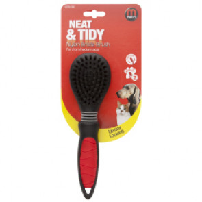 Mikki Nylon Bristle Brush - Short & Medium Coats