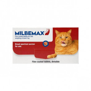 Milbemax Cat Deworming Tablets