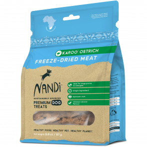 Nandi Karoo Ostrich Freeze-Dried Meat