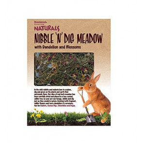 Rosewood Naturals Nibble & Dig Meadow Small Pet Treat