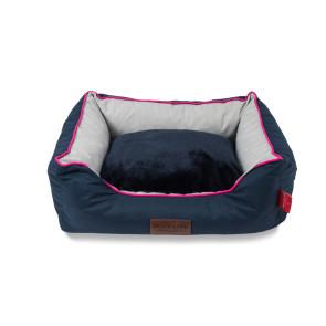 Dog's Life Waterproof Premium Country Bed - Navy