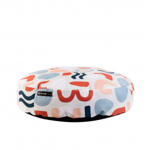 Urbanpaws Peanut Round Pet Bed