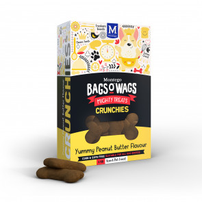 Montego Bags O Wags Peanut Butter Crunchies Dog Biscuits