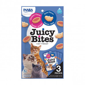 Juicy Bites Tuna & Chicken Cat Treats - 3 Pack