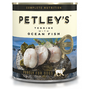 Petley's Adult Ocean Fish Terrine Canned Dog Food
