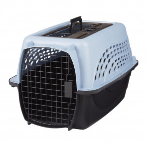 Petmate Two Door Top Load Small Pet Kennel - Pearl BluePMDC