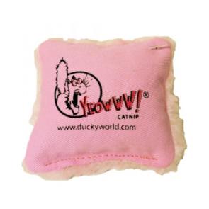 Yeowww! Catnip Pillow Cat Toy - Pink