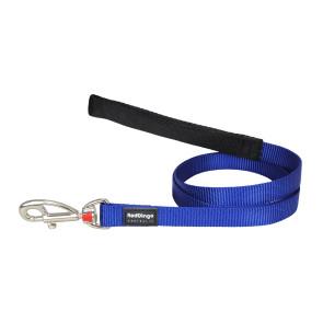 Red Dingo Fixed Dog Lead - Dark Blue