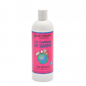Earthbath 2-in-1 Light Wild Cherry Conditioning Cat Shampoo - 472ml