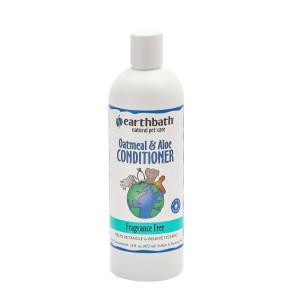 Earthbath Oatmeal & Aloe Fragrance Free Pet Conditioner - 472ml