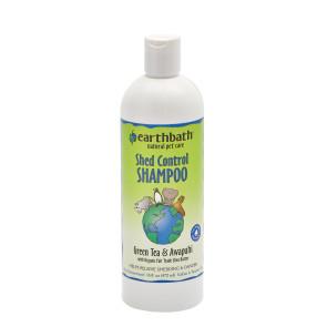 Earthbath Shed Control Green Tea & Awapuhi Pet Shampoo - 472ml