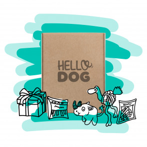 Hello Dog 6 Month Large Dog Box - 20kg and over