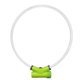 Red Dingo Lumitube Illuminated Dog Safety Collar-Green