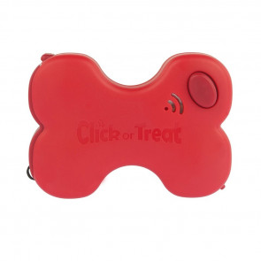 RedDingo Dog Click or Treat Dispenser - Red