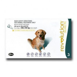 Revolution Large Breed 20-40kg Dog Parasiticide