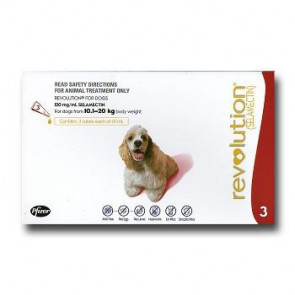 Revolution Medium Breed 10-20kg Dog Parasiticide