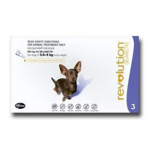 Revolution Mini Breed 2.5-5kg Dog Parasiticide