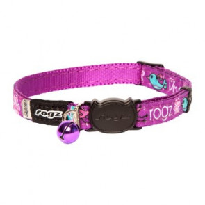 Rogz FancyCat Breakaway Collar-Magenta