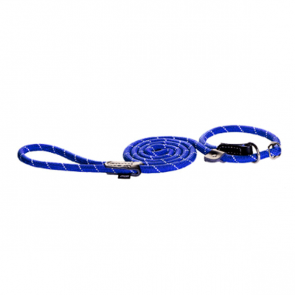 Rogz Rope Moxon Dog Lead-Blue