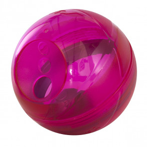 Rogz Tumbler Slow Feeder Dog Toy-Pink