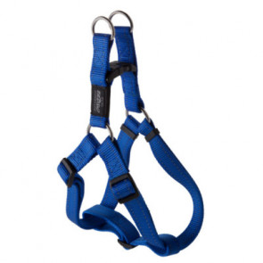 Rogz Utility Step-In Reflective Dog Harness-Blue