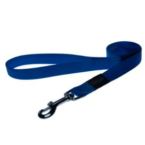 Rogz Utility Fixed Reflective Dog Lead-Blue