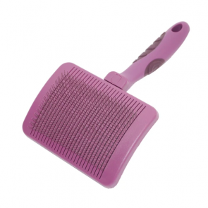 Rosewood Self-Cleaning Slicker Pet Brush
